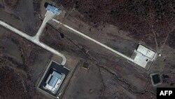 Пусковой комплекс. Фотография со спутника