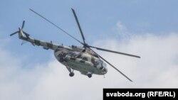 Ми-8 тікұшағы. (Көрнекі сурет.)
