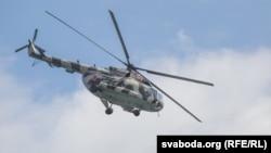 Вертолёт Ми-8. Иллюстративное фото.