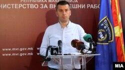 Прес-конференција во МВР на Иво Котевски.