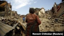 Наслідки попереднього руйнівного землетрусу в Непалі, 2 травня 2015 року