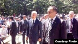 Boris Tadić u Jadovnom, 26. lipnja 2011, foto: Dnevnik.hr