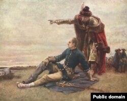 Surat: Karl XII we Iwan Mazepa Poltawa söweşinden soň.