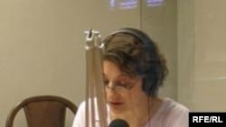 نازی عظیما در استودیوی رادیو فردا در پراگ