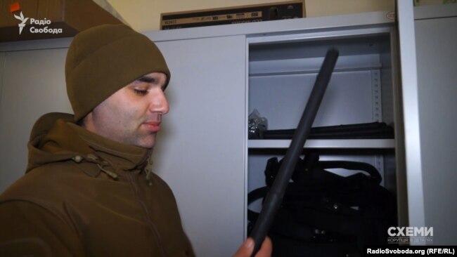 Заступник директора «Муніципальної охорони» та член «Муніципальної варти» Антон Колумбет