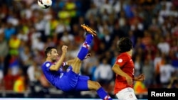 У складі «Шахтаря» і збірної Хорватії Даріо Срна завжди демонстрував майстерну гру