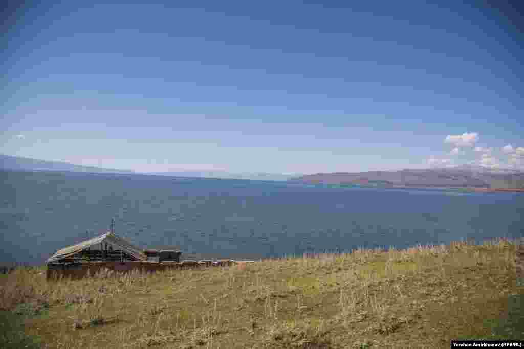 Озеро Маркаколь. 9 сентября 2016 года.