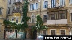 Odesa 2016, casa familiei Sturdza, prima curte interioară