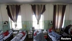 Pamje nga një spital në Kabul të Afganistanit