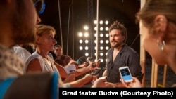 Igor Vuk Torbica u razgovoru sa novinarima