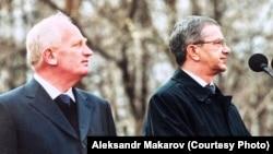 Бывший мэр Томска Александр Макаров и бывший губернатор Томской области Виктор Кресс