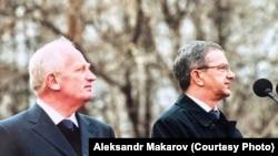 Александр Макаров и Виктор Кресс, губернатор Томской области в 1991-2012 годах.