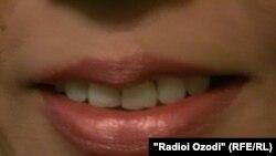 General - teeth, smile, lipstick, undated