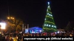 Святкування Різдва в Керчі, 7 січня 2018 року