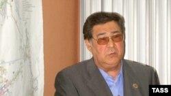 Кемеров облусунун губернатору Аман Тулеев.