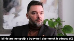 Staša Košarac, ministar vanjske trgovine i ekonomskih odnosa Bosne i Hercegovine