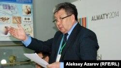 Археолог Жәкен Таймағамбетов. Алматы, 22 мамыр 2014 жыл.