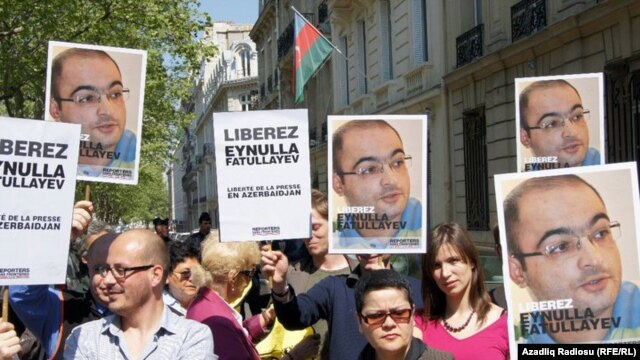 """While international calls for his release (such as this one in France) may not have had an immediate effect, Eynulla Fatullayev says, """"They couldn't have killed me with everyone watching."""""""