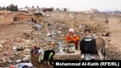 مرحلون داخل العراق بلا سقف يحميهم