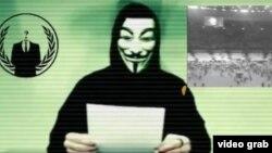 """Anonymous төркеме """"Ислам дәүләте"""" оешмасына сугыш игълан итә"""