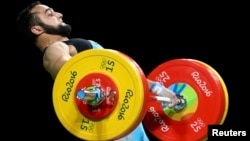 Nijat Rahimov of Kazakhstan was banned for two years in 2013 after failing a test while competing for Azerbaijan.