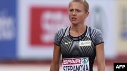 Российская спортсменка Юлия Степанова