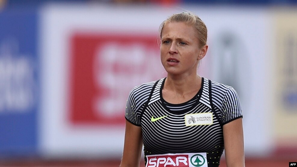 Vladimir Mokhnev had trained a number of top Russian athletes, including doping whistleblower Yulia Stepanova (pictured, file photo)