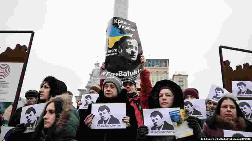 Підконтрольний Кремлю Верховний суд Криму засудив Балуха до 4 років і 11 місяців колонії та штрафу в розмірі 10 тисяч рублів (близько 4 тисяч гривень) за сукупністю двох кримінальних справ