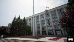 Sediul Guvernului la Chișinău (Foto: Dan Guțu/IPN)