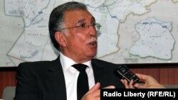 د افغانستان د فواید عامې وزیر ډیپلوم انجنیر نجیب الله اوژن