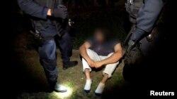 Уапсен во големата антитерористичка операција во Австралија.