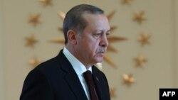 Президент Турции Реджеп Тайип Эрдоган в своей резиденции в Анкаре. 5 декабря 2016 года