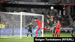 Сборная Кыргызстана проиграла команде ОАЭ со счетом 2:3