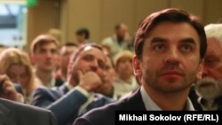 Министр по делам Открытого правительства Михал Абызов на Гражданском форуме