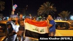 فرحة الجمهور العراقي في شوارع بغداد