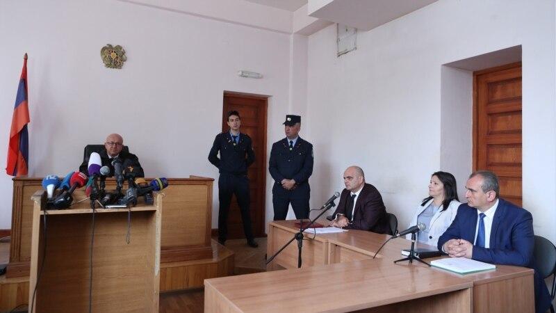 Суд в очередной раз отклонил ходатайство адвокатов Манвела Григоряна