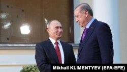رجب طیب اردوغان می گوید، نشست با ولادیمیر پوتین نشان داد که روسیه و ترکیه موضع مشترکی در قبال اورشلیم (بیت المقدس) دارند.