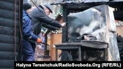 Наслідки вибуху на різдвяній ярмарці у Львові, Львів, 22 грудня 2018