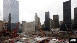 Нью-Йорк. На месте трагедии 9/11