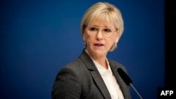 Министр иностранных дел Швеции Маргот Валльстрем (архив)