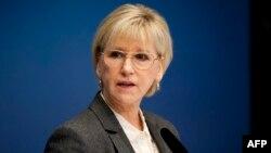 Швеция сыртқы істер министрі Маргот Вальстром.
