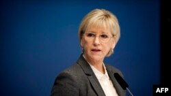 Ministrja e jashtme e Suedisë, Margot Wallstrom