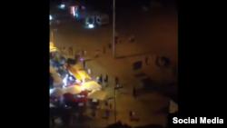 Флешмоб в городе Жирона, Испания.