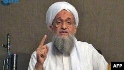 «Әл-Қаида» террористік ұйымының жетекшісі Айман әл-Зауахири.