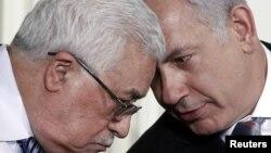 بنیامین نتانیاهو و محمود عباس