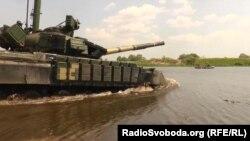 Военные учения резервистов, Черниговская область
