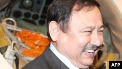 «Қазғарыш» комитеті басшысы Талғат Мұсабаев. Мәскеу, 11 сәуір 2011 жыл.