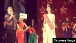 Madina Olimshoeva, Tajik representative on USSR beauty