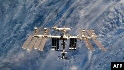 Халықаралық ғарыш станциясы. (Көрнекі сурет).