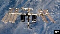 Beynəlxalq Kosmik Stansiyanın yaxından görüntüsü